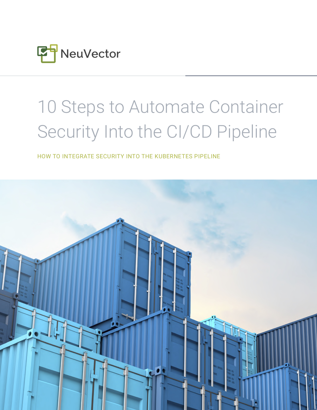 10 Steps to Automate Container Security_cover