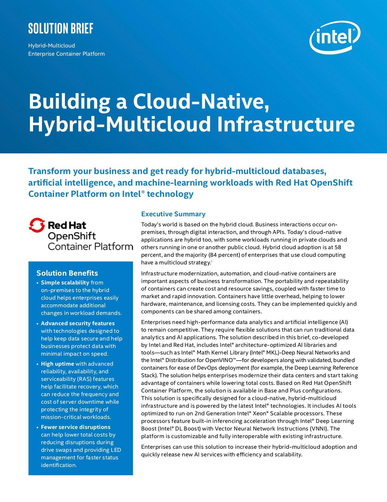 Building a Cloud-Native, Hybrid-Multicloud_cover