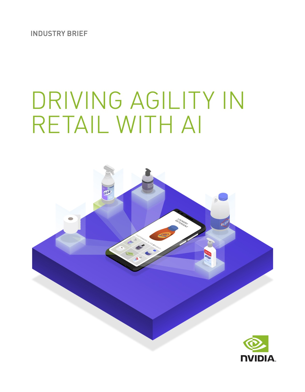 Cover_DRIVING AGILITY IN RETAIL WITH AI