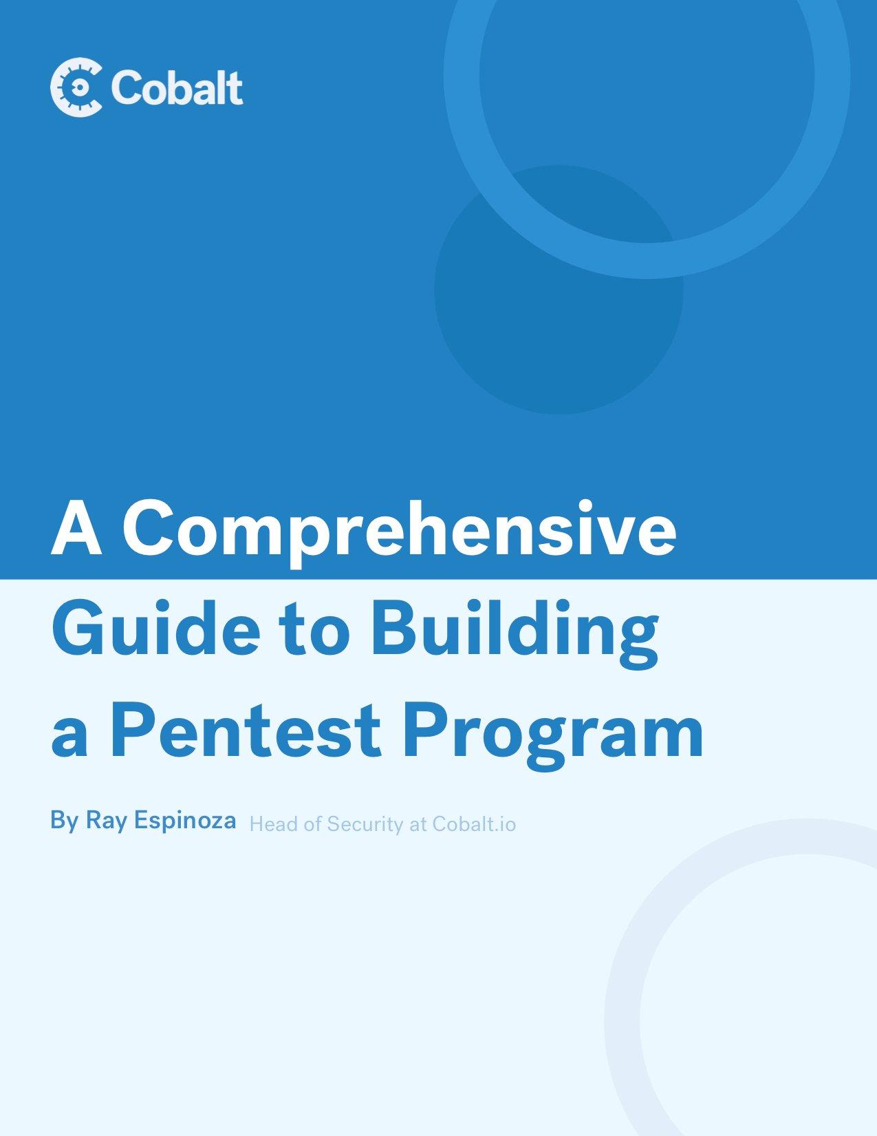 Guide to Building a Pentest Program_cover