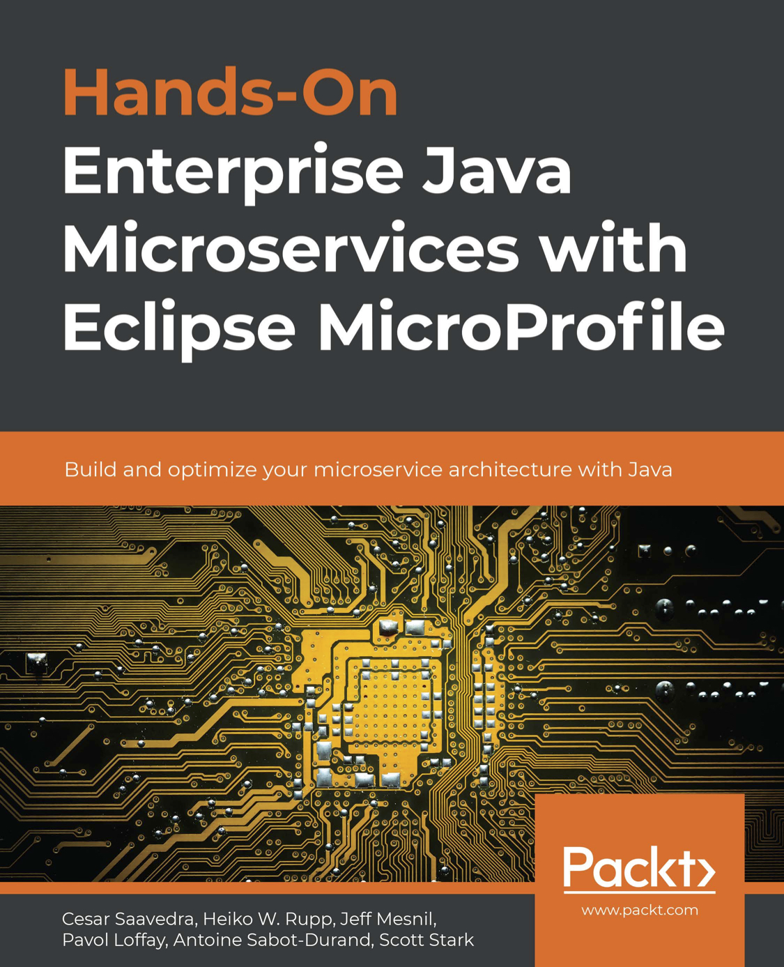 Hands-On Enterprise Java Microservices with Eclipse MicroProfile_cover