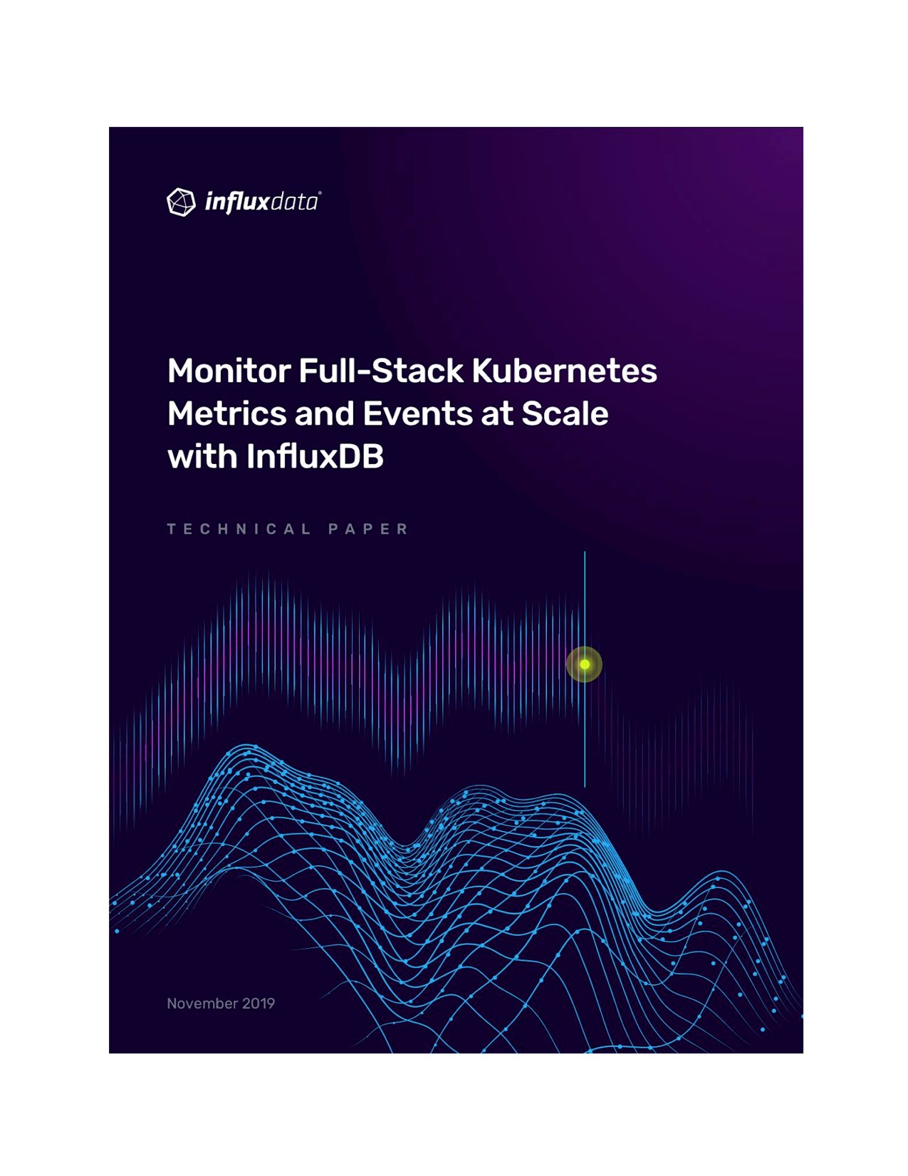 Monitor Full-Stack Kubernetes Metrics and Events at Scale with InfluxDB_cover